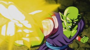 """Piccolo firing his """"Special Beam Cannon"""""""