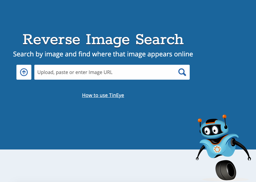 Performing a reverse image search on TinEye how to find anime by picture