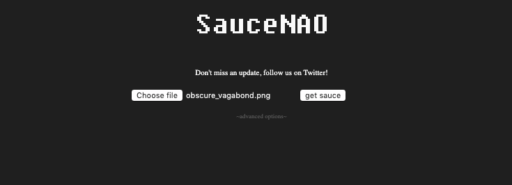 Performing a reverse image search on saucenao.com how to find anime by picture