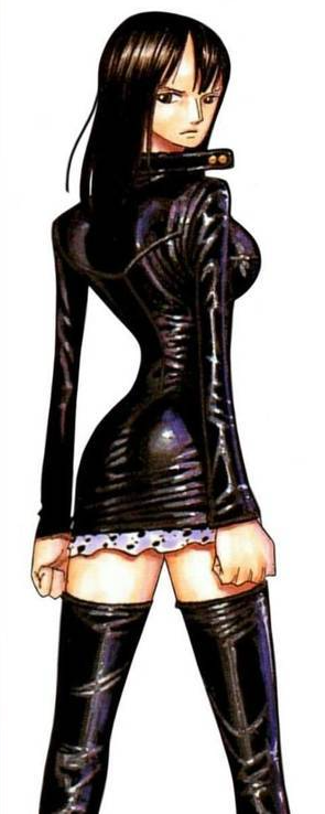 anime girls in leather