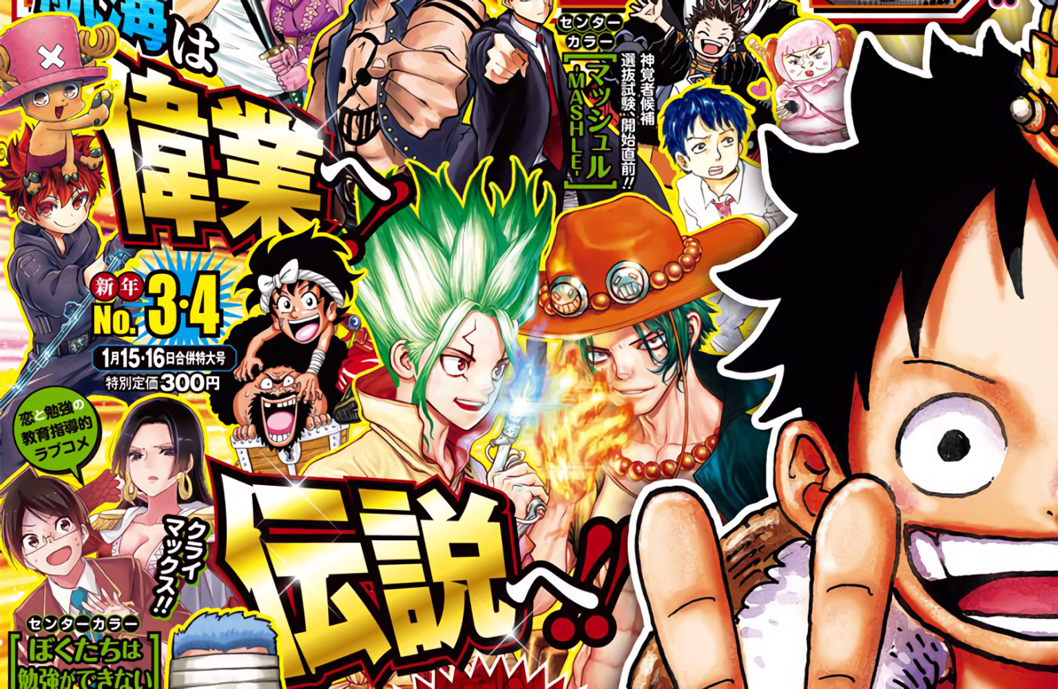 Read One Piece Chapter 1000, Legendary Chapter Release ...