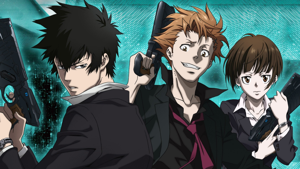 introductory anime psycho-pass