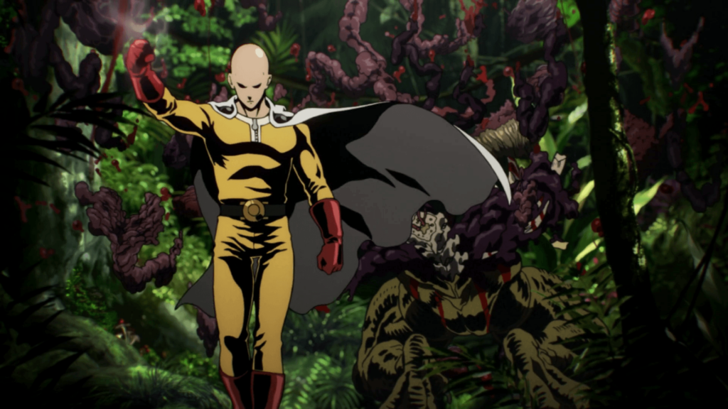 one punch man high quality anime