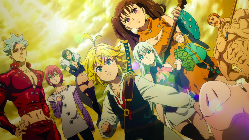 magic in anime seven deadly sins
