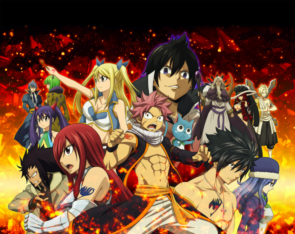 fairy tail anime witch